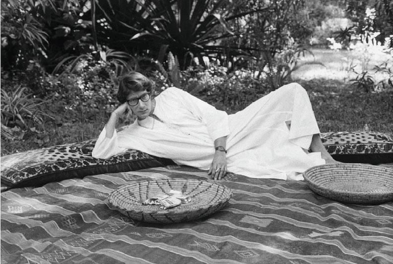 Yves Saint Laurent no Marrocos