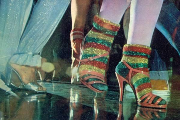 10 – As meias de lurex, em Dancing Days
