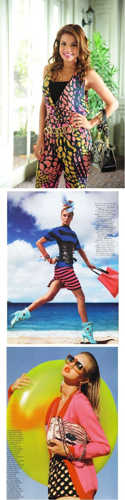 """A personagem de Nívea Stelmann faz a linha """"mulherão"""", mas é antenada nas tendências de moda"""