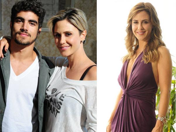 Guilhermina Guinle (com Caio Castro) em Ti-ti-ti e como Beatriz em O Astro que estréia amanhã
