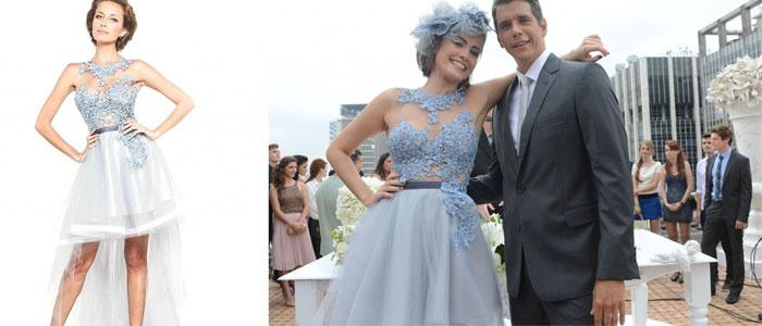 Amor à Vida estreia com noiva de vestido azul. Veja quem assina o ...