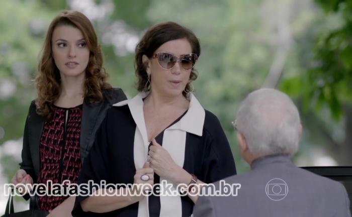 NFW - óculos Lilia Cabral - Maria Marta - Império