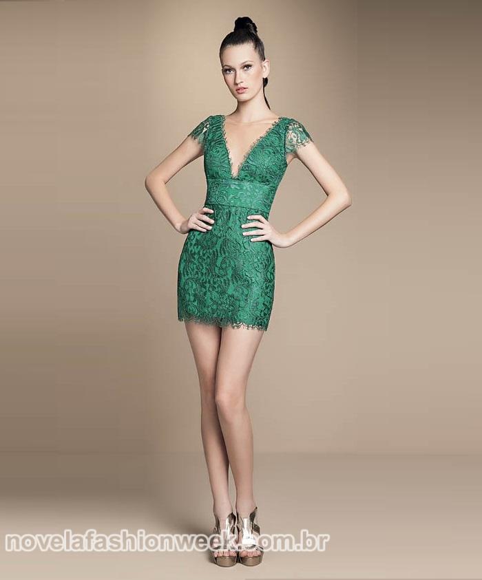 NFW - vestido pamela parker verde - geração brasil