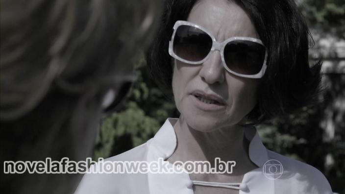 Novela Fashion Week Blog - óculos gilda - o rebu