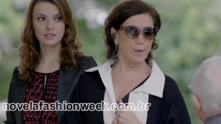 Novela Fashion Week Blog - óculos maria marta