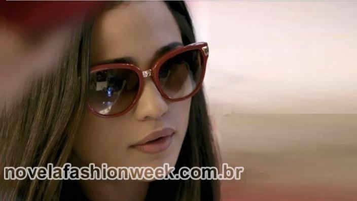 Novela Fashion Week - óculos nanda costa - império