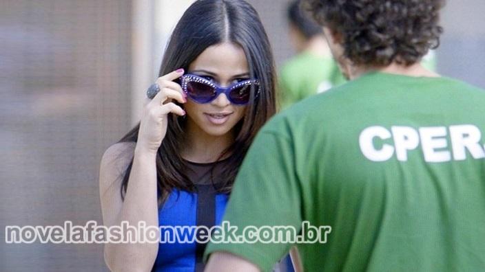 Novela Fashion Week - óculos tuane - império