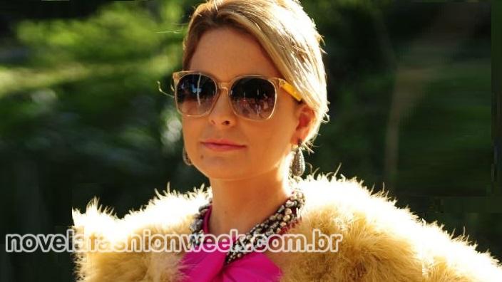 Novela Fashion Week - óculos pamela - geração brasil
