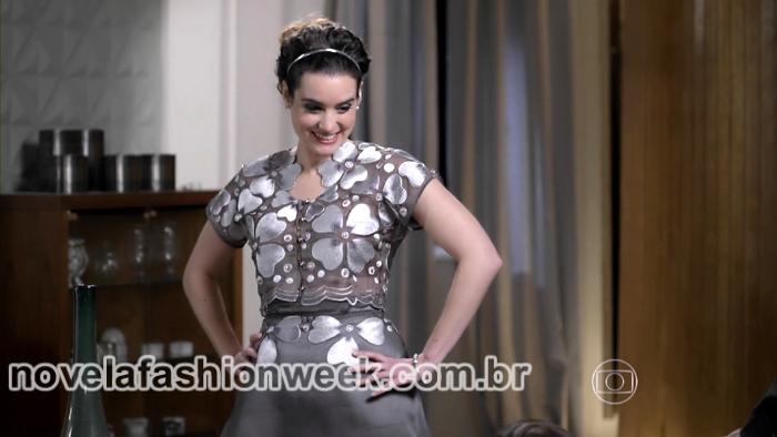 vestido lara noivado novela