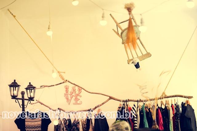 Araras estilizadas da Love Atelier Store