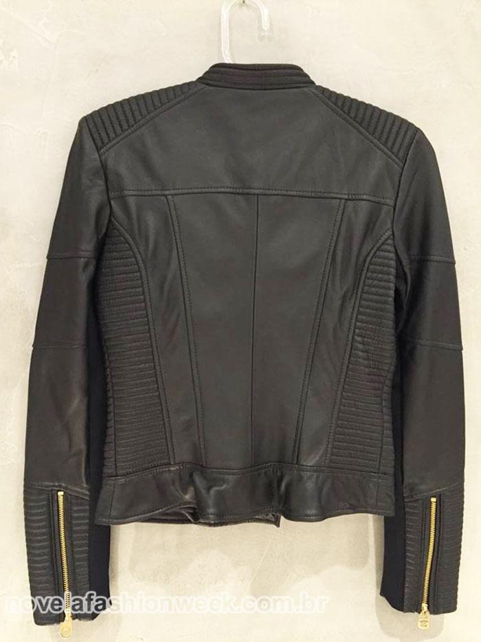 jaqueta couro totalmente demais mais pedida
