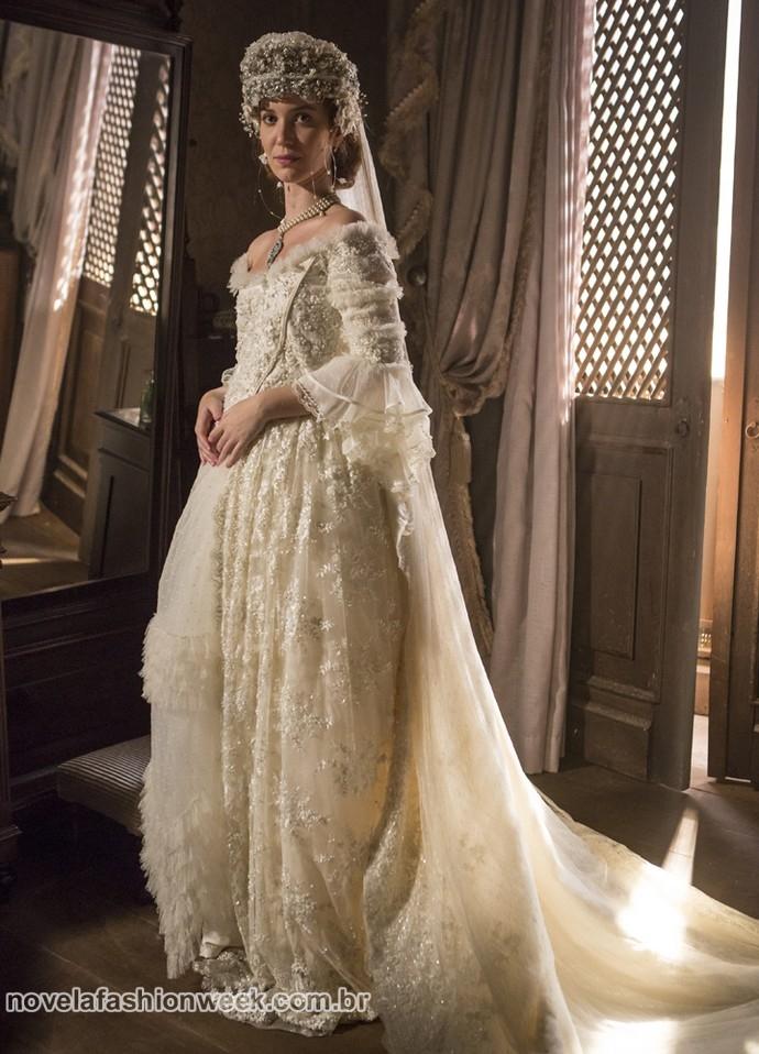 vestido de casamento branca Felipe Monteiro