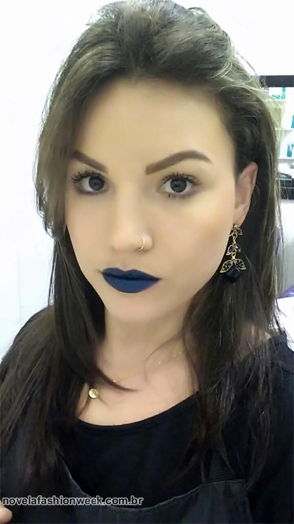 batom azul vult