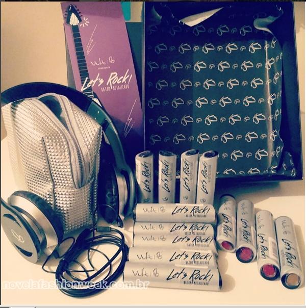 caixa midia kit vult cosmética