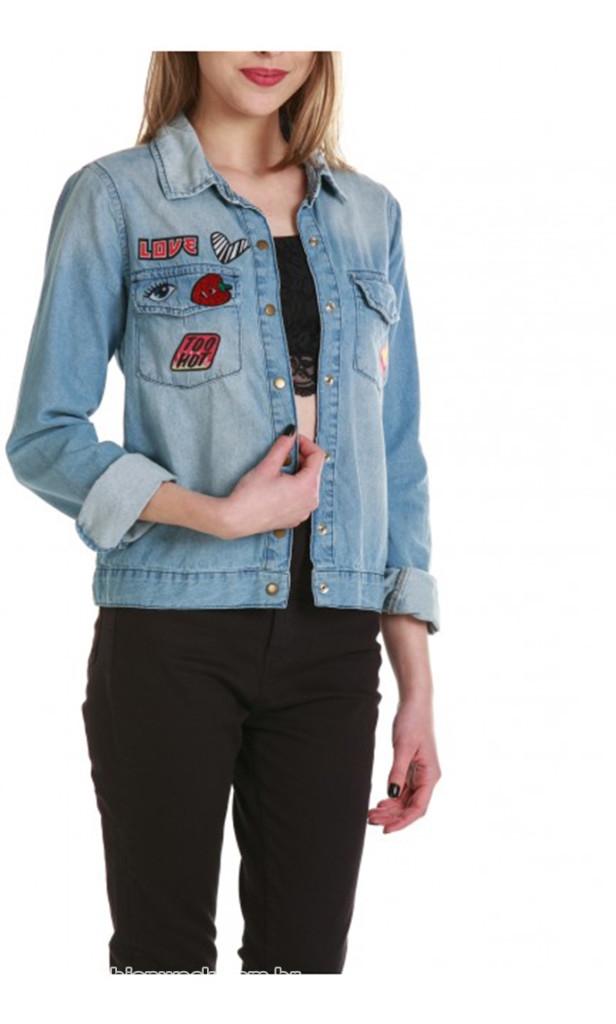 jaqueta jeans gang