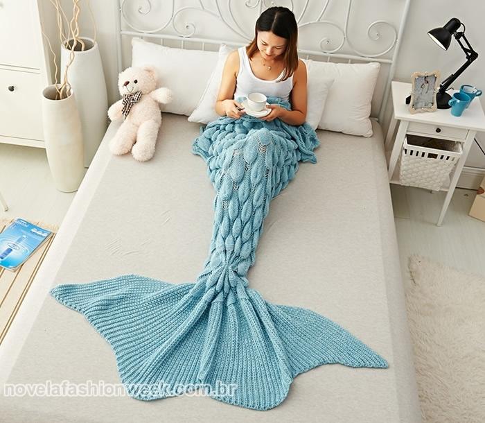 cobertor sereia