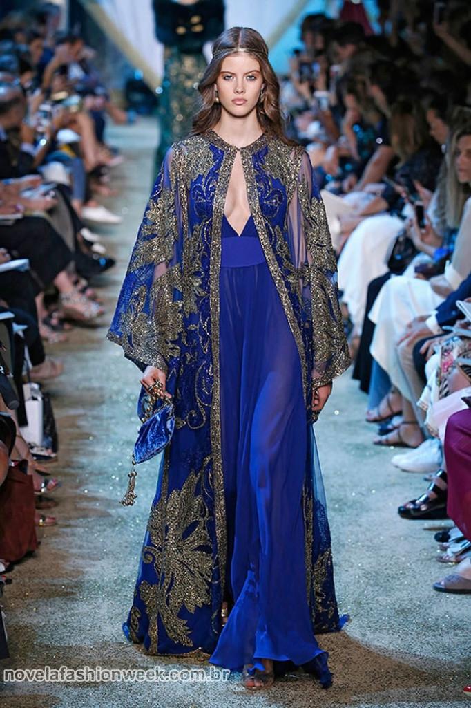 Outro look deslumbrante da Alta Costura inverno 2017 de Elie Saab inspirado na era Medieval